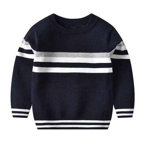 Kids Boys Sweaters And Tops Boys jumper Winter Sweaters Children Knitted Pullover Warm Outerwear Pure Cotton