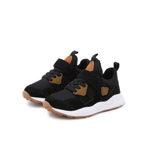 shoes sports Boys shoes sneakers Mesh breathing kids shoes for girls High-quality soft