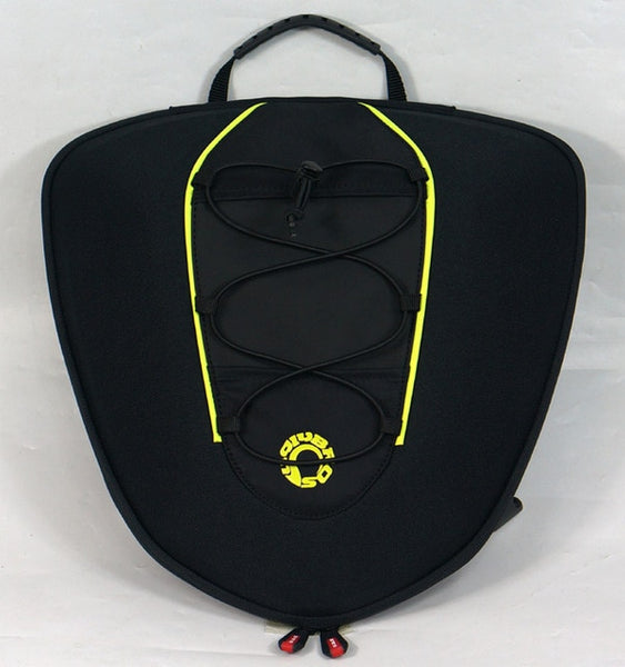 Newest rear motorcycle rear trunk bag pack QR hump versatile package Good quality two color