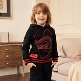 Sweatshirts for Toddler Girls Boys Teenager Hoodies Cotton Velvet Tops Long Sleeve Kids Clothes