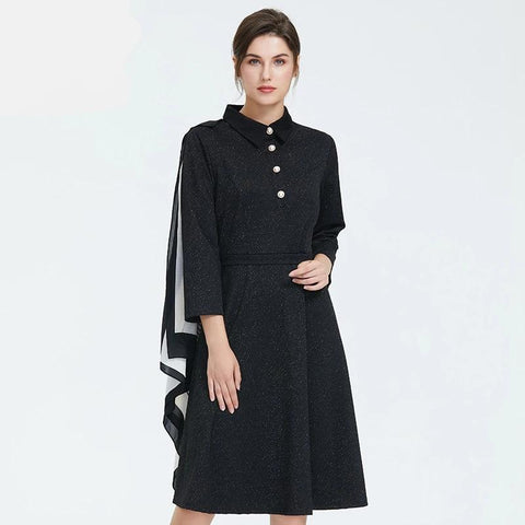 Autumn new arrival women dress  high quality dress elegant long sleeve office lady style autumn dress women