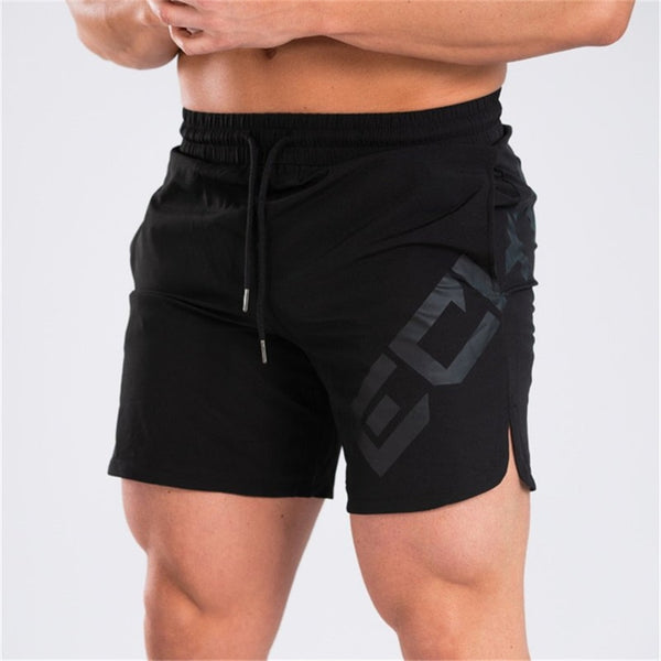 Summer Mens Breathable Shorts Fitness Bodybuilding Fashion Casual Gyms male Joggers Workout Beach Slim short Pants