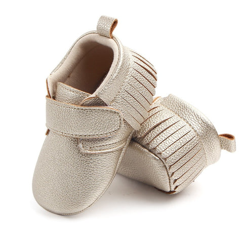 6 Colors Spring Baby Shoes PU Leather Newborn Boys Girls Shoes First Walkers Baby 0-12 Months