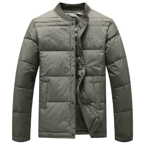 Winter Men Close the body Parkas Casual Cotton padded Clothes Men Warmth keep Warm Tank Coats thermal cloth jacket Tops