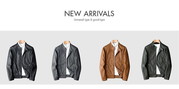 Mens Jackets Coats Fashion Winter Motorcycle Biker Faux Leather Jacket Men Clothes Thick Velvet Coats