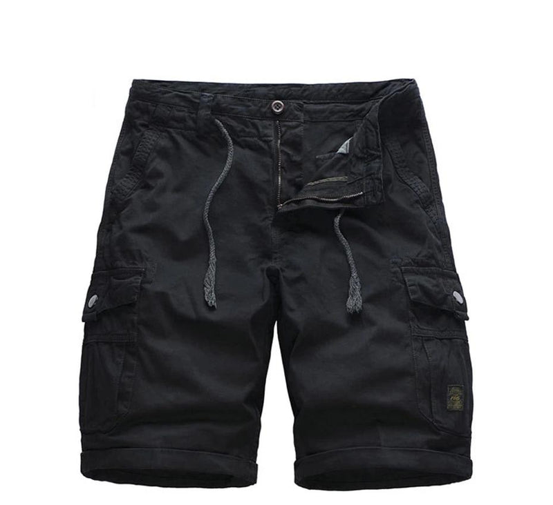 Holyrising Men short homme Cargo Short Mens Summer Cotton Cool Brand Shorts Knee Length
