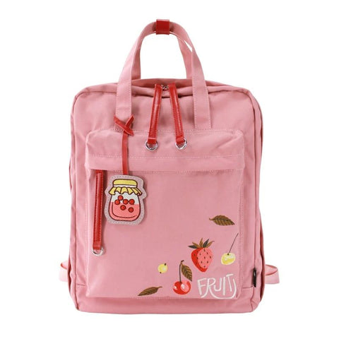 "Embroidery Women Travel Backpack 15.6"" Laptop Backpacks for College Girl Harajuku Cute Backpack Backpack"