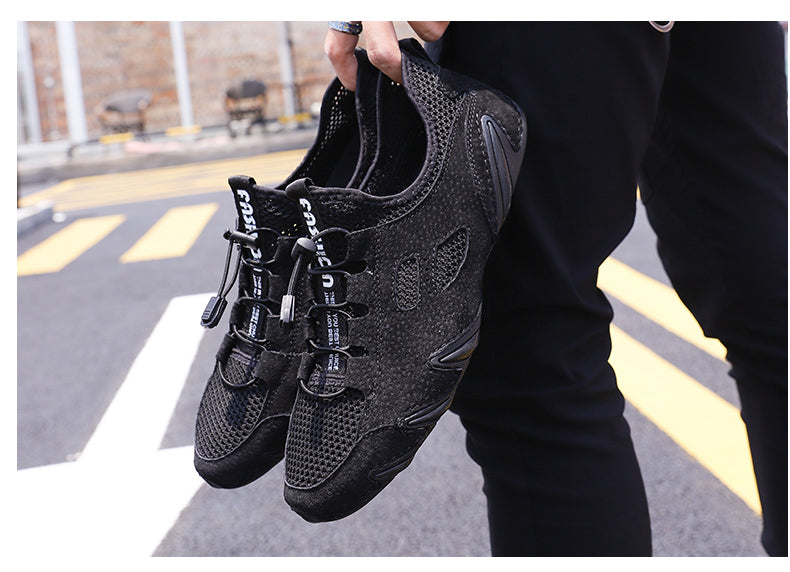 Comfortable Casual Leather Shoes Men Loafers Summer Shoes Men Flats Breathable Driving Shoes Men