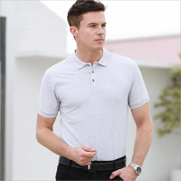 Plus Size S-4XL Brand Fashion Men's Polo Shirt High Quality Men Cotton Short Sleeve shirt Brands jerseys Summer Mens polo Shirts