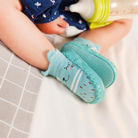 Fashion Baby Socks Rubber Soles Infant baby stuff Sock Newborn Autumn Winter Child Floor Socks Shoes Anti Slip Soft Sole