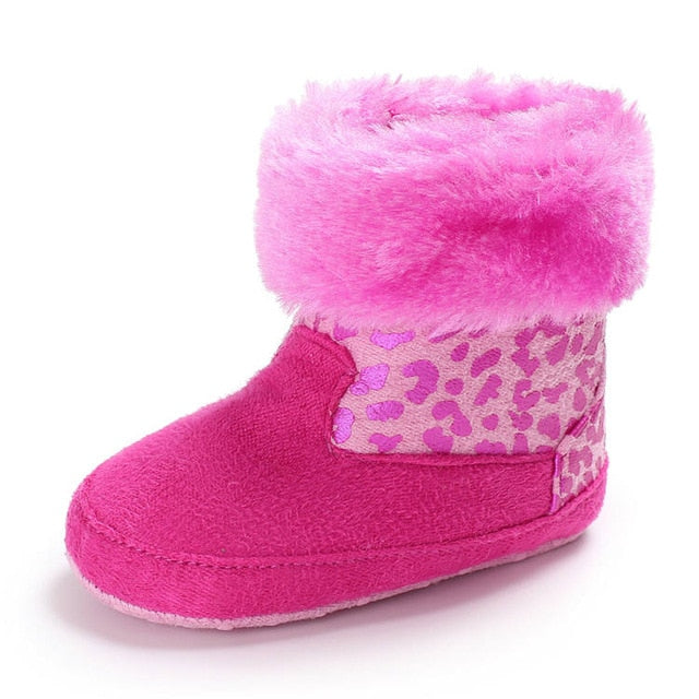 New Style  Baby Shoes Toddler Soft Sole Anti-slip Warm First Walkers Infant Baby Crib Shoes