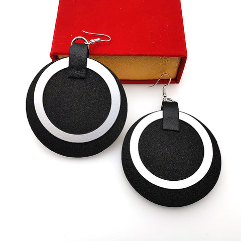 New Round Drop Earrings Women A Pair Earrings Strange Things Handmade Jewelry Punk Style