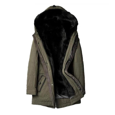 New arrival winter high quality warm 100% natural real wolf fur liner hooded jacket men,hooded winter parkas men