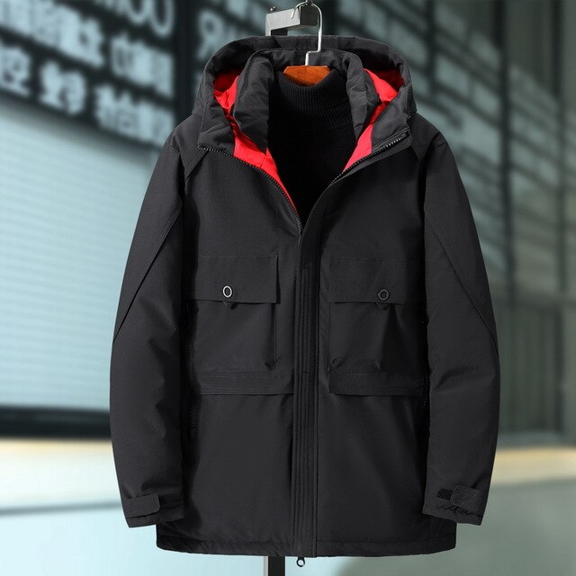 Plus Size 10XL 9XL 8XL 7XL  Hooded Winter Coat Men Thick Warm Mens Winter Jacket Father's Gift Parka