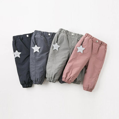 Winter unisex baby pants children full length pants infant toddler solid trousers
