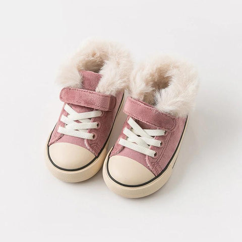Winter unisex baby canvas shoes new born girl baby boy casual solid shoes