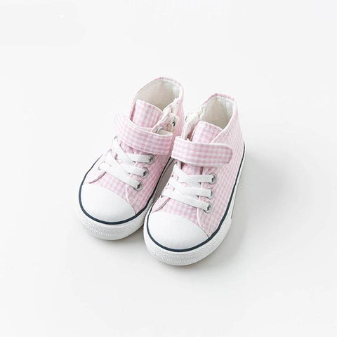Baby girl canvas shoes casual shoes  pink spring autumn