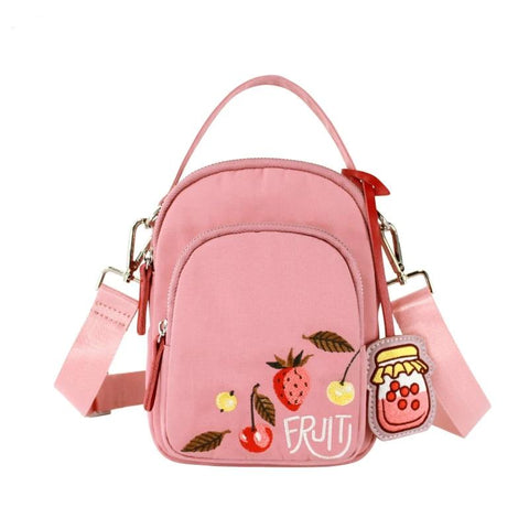 Women Chest Bag Original Embroidery Women Shoulder Bag Female Crossbody Bags Candy Color Handbags
