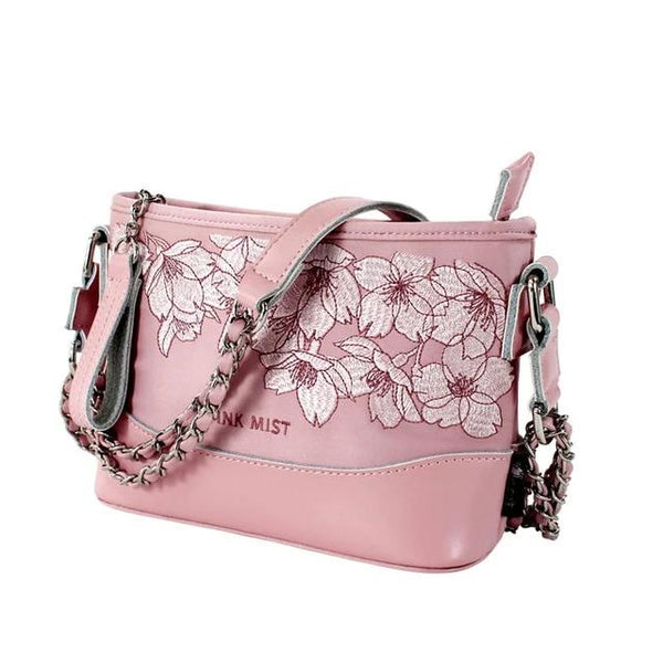 Original Embroidery Women Handbags Chain Hobo Bag Vintage Lady Shoulder Bags Girl Small Crossbody Bags