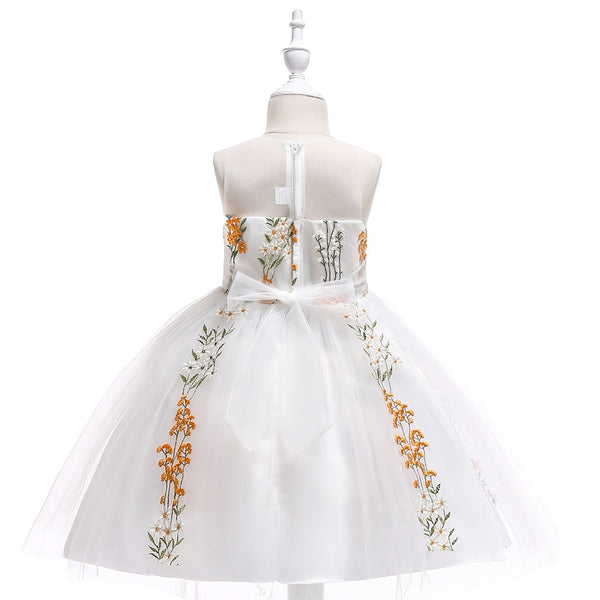 New Fairy Dress Sleeveless Girls Princess Dress Gauze for 4 To 10 Years Old Girl