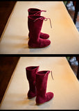 New bow girls high boots High quality princess little kids boots for girls autumn children shoes