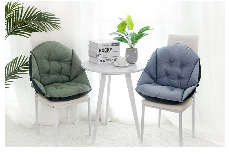 New all-in-one memory cotton waist protection office cushion home and dormitory stool sofa thickened cushion