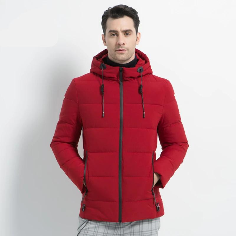 New Men's Winter Jacket High Quality Men's Coat Hooded Male Coat Thicken Warm Man Apparel