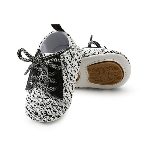New Baby Boys Girls First Walkers  Sole Infant Toddler Shoes Sneakers Canvas shoes TPR