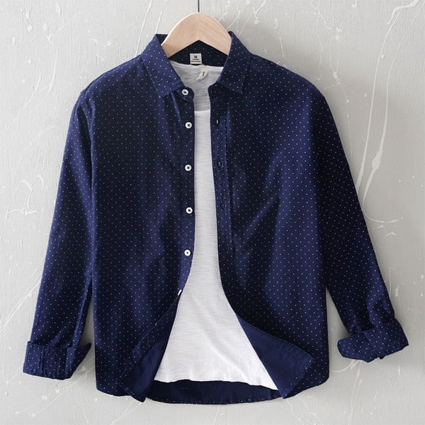 brand shirt men long sleeve blue shirts for men casual comfortable shirt mens solid shirts male overhemd
