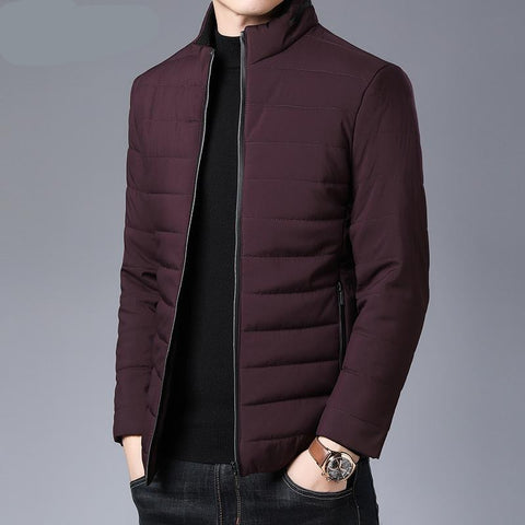 Thick Winter Brand Jackets Men Parka Quilted Jacket Puffer Bubble Coats  Mens Clothing