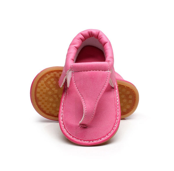 New Summer Baby Sandal Boys Girls Shoes Printing Style Shoes Newborn Infant Toddler Soft Rubber Sole Beach