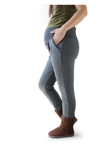 Good Quality Cotton Maternity Pants All Match Thicken Velvet Warm Winter Pants For Pregnant Women Big Size XL-4XL