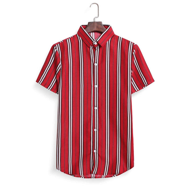 Summer Shirts Men Casual Shirt New Arrival Short Sleeve Comfortable Slim Fit Male Shirts Mens Dress Shirts
