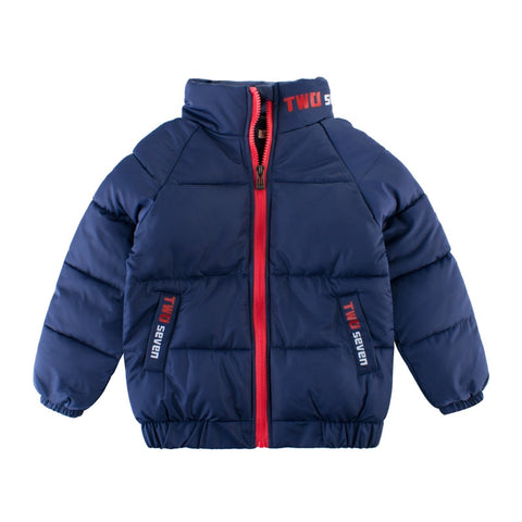 3-12Y Boys Winter Coats Fashion Jacket Toddler Clothes 4 6 8 10 Years Children Clothing Kids Warm Parkas Baby Outerwear Blue Top