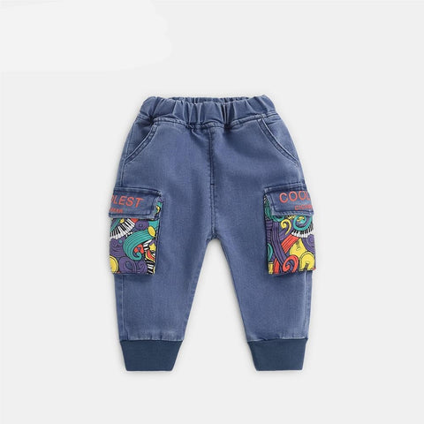 baby boy clothes Baby Boys Jeans  Children Boys Jeans Pants Kids Trousers Pants Baby Casual Pants for Boys Clothing