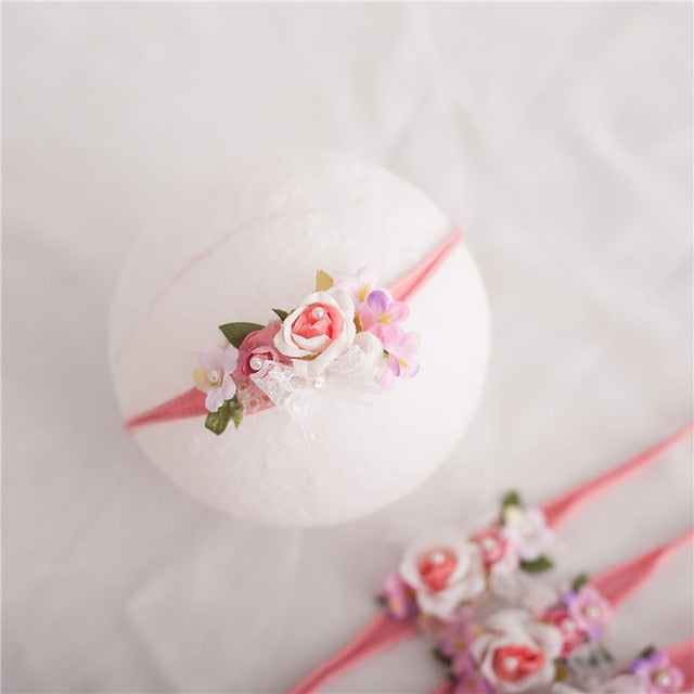 Kids Toddler  Newborn Headband  Baby Girl Hearband Hair Accessories Flower Girl Headwear Newborn Photography Props
