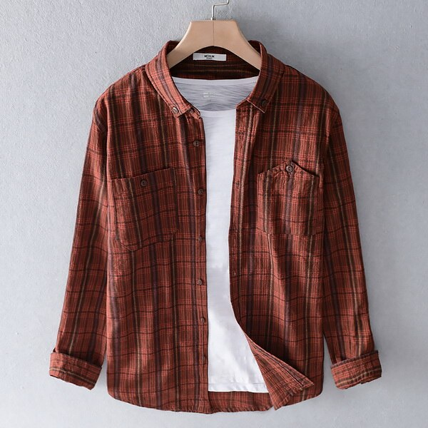 shirts men cotton trend shirt for men long-sleeved spring summer shirt mens casual shirts male