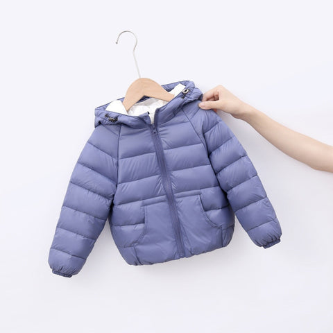 Baby Boys Jacket New Autumn Winter Jackets For Boys Girls Coat Kids Outerwear Coats For Girls Clothes Warm Children Jacket