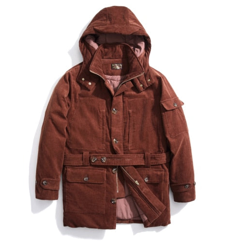 Men Jacket velvet jacket Parkas Men Corduroy Coat Parkas Outerwear Coat Winter Coat Men  Mens Winter Jackets and Coats