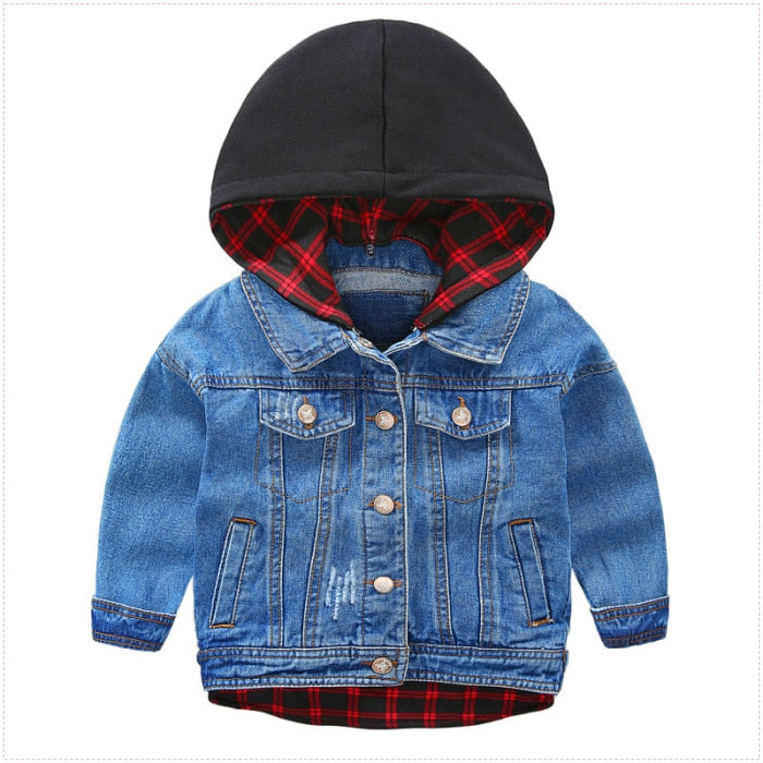 Spring New Arrival Kids Boys Jacket With Hooded Long Sleeve Cartoon Coats Jacket For Baby Tops Infant Boys Coat Boys Jacket