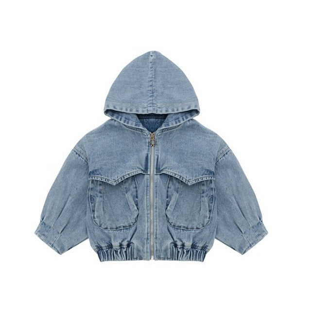 Baby Boys Denim Jacket Autumn Jackets For Boys Coat Kids Outerwear Coats For Girls Clothes Children Jacket