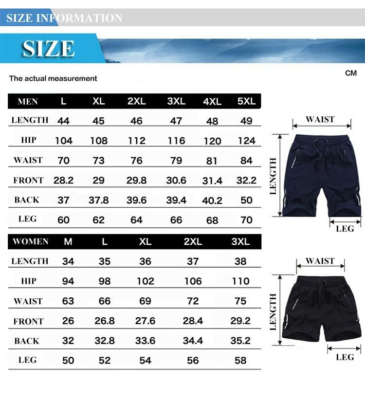 Summer Shorts Men Solid Quick Dry Mens Beach Shorts Causal Drawstring Fitness Male Board Shorts