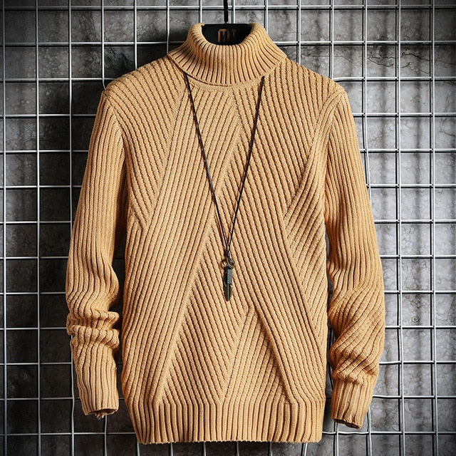 Spring Autumn Men's Sweater Streetwear Style Sweater Men Casual Long sleeve Men's Clothing Sweater Men