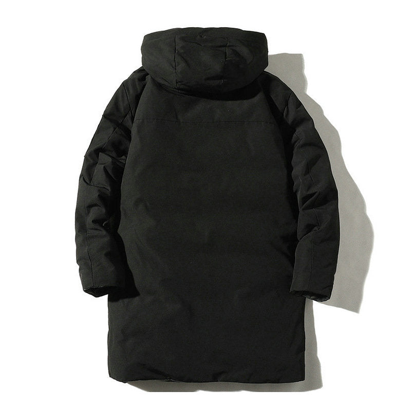 Winter Jackets Hooded Parkas Men Thick Padded Male Coats Overcoat Clothe Male Windproof Outwear Clothing Jacket Clothes