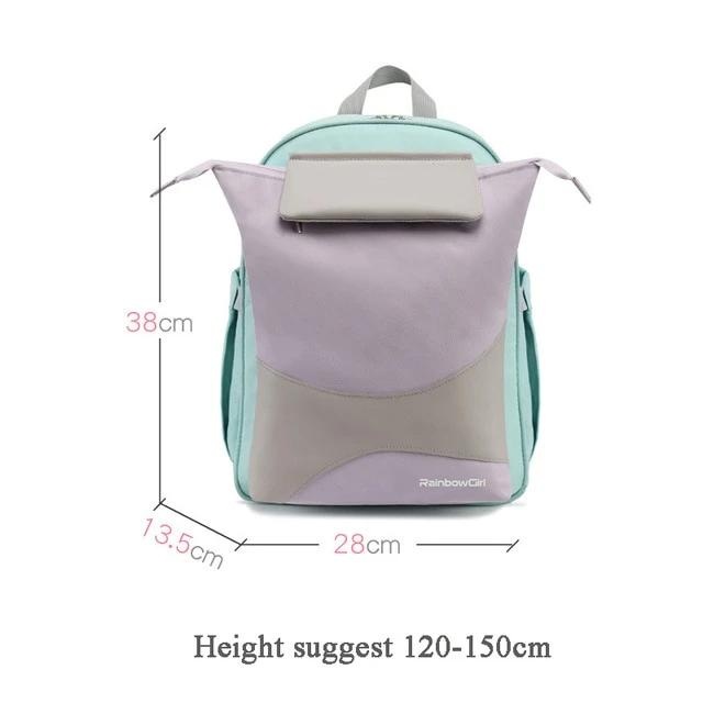 School Backpack for Girls New 6-12 Years Old Children's School Bag