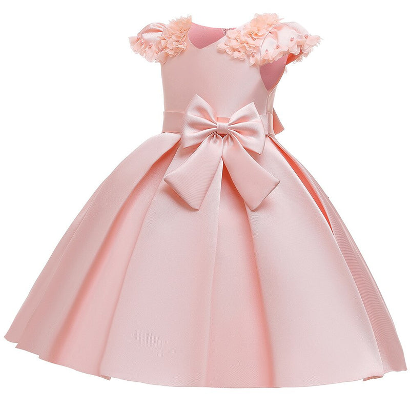 Flower girls dress Petal Sleeveless tutu girls dresses kids dresses for Baby Girls Christmas Dresses princess
