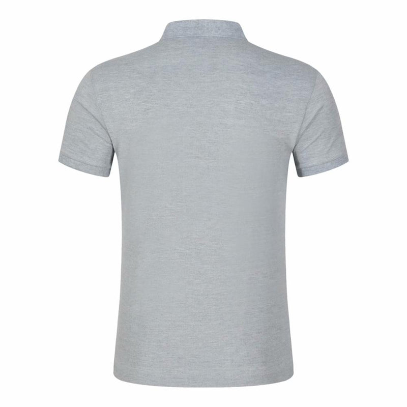 Men Polo Shirts Casual Solid Short Sleeve Breathable Cotton Shirt Summer Brand Clothing Mens Polo Shirts Tops