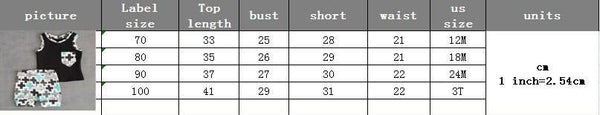 2017 Fashion Baby Toddler Boys Clothes Pocket Tops Vest and Pants 2pcs Outfits Clothes Set