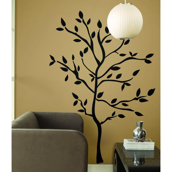 Black Tree Branch Western Room Sticker Vinyl Decals Art Wall Sticker