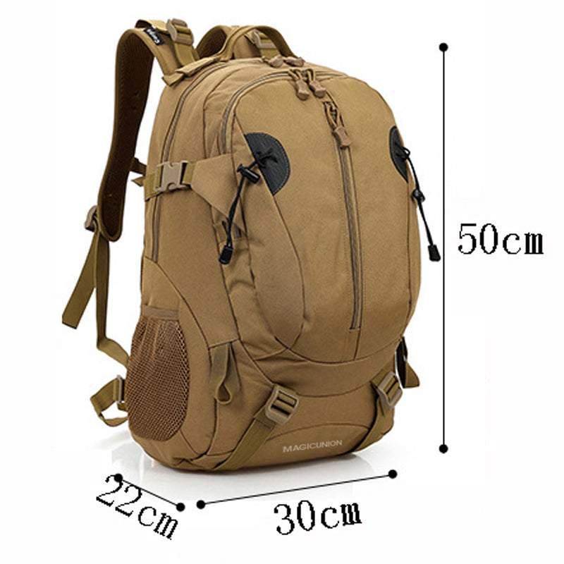 6717ec5fcdac Men and Women Unisex Military Backpack Canvas Bag Trekking Rucksacks 40L  Backpacks Men Backpacks Men Bags Fashion